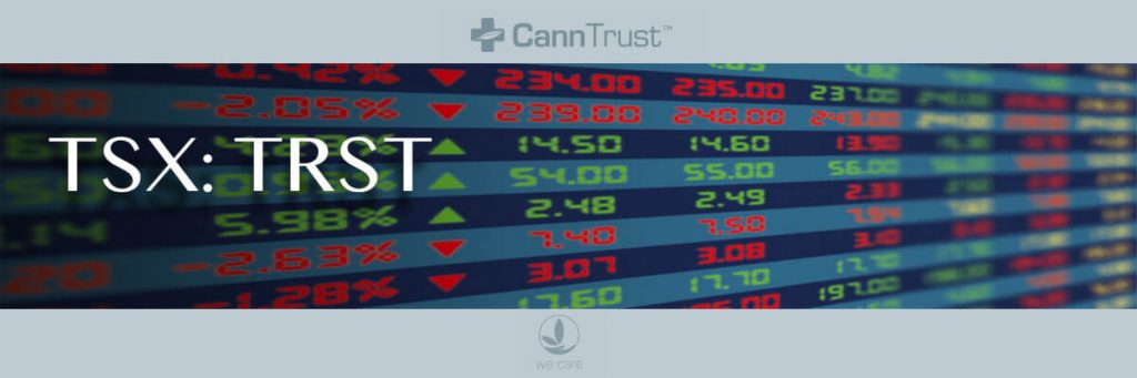 CannTrust Holdings Inc. Announces Closing of $100,395,000 Bought Deal Financing